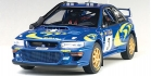 SUBARU IMPREZA WRC 1997 č.3 RALLY SAFARI winner