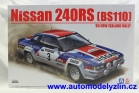 nissan 240rs bs110 č.3 1983 new zealand rally