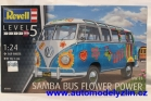 volkswagen van samba bus flower power